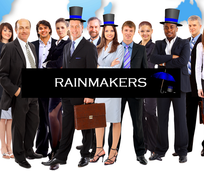 Strategic Business Networking - Leveraging Rainmakers