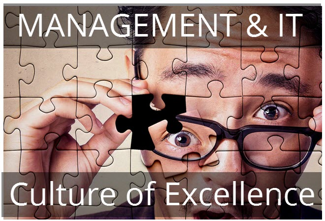 Align Management & IT with a Culture of Excellence